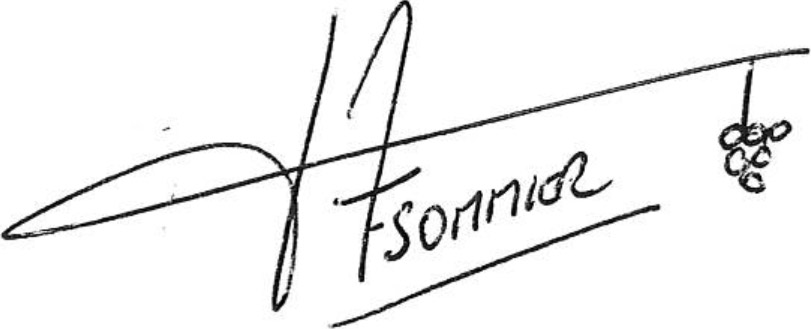 Signature Fabrice Sommier